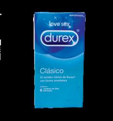 Durex Condones Clasico X6
