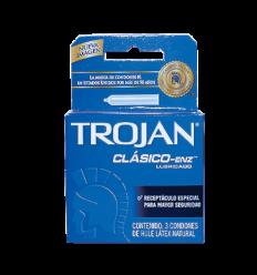 Trojan Clasico Estuche X 3 Condones