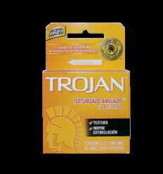 Trojan Texturizado Estuche X 3 Condones