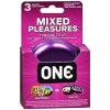 Condones One Mixed Pleasure x 3