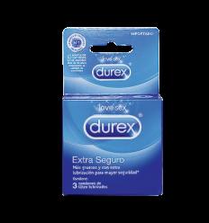 Durex Condones Extra Seguro x3